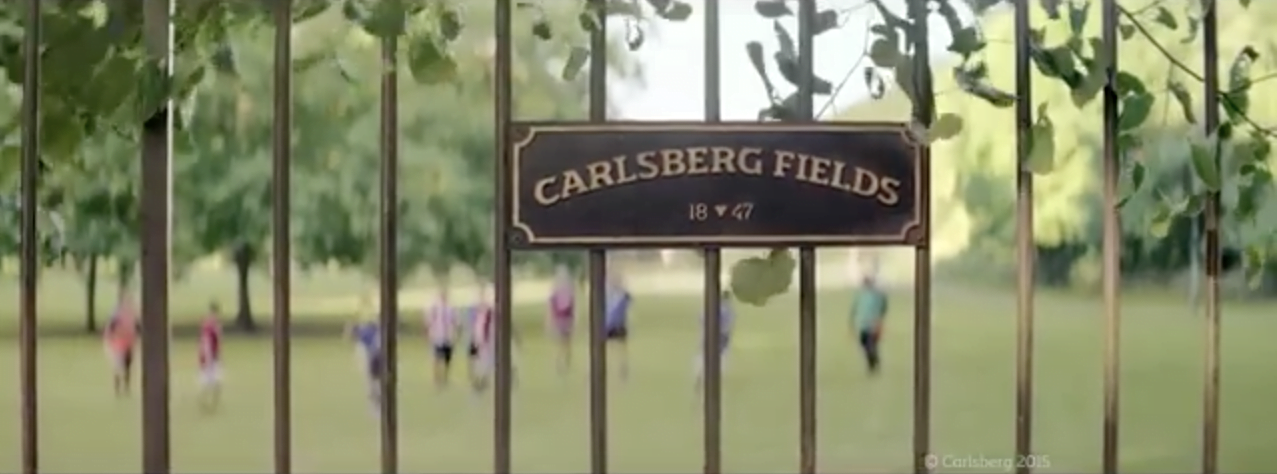 Sutton's Film Office attracts a big-budget Carlsberg ad featuring a football legend