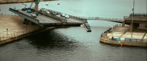 Criminal filmed thrilling action sequences across London including Connaught Bridge