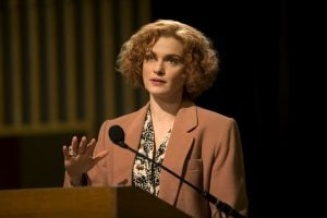 Rachel Weisz in character at JW3