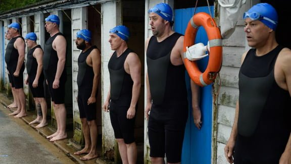Swimming With Men – The Full Monty in Speedos – filmed in London