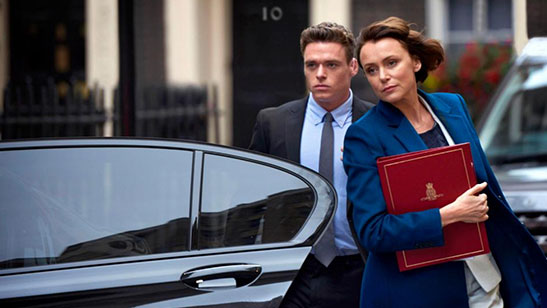 Producers of hit drama Bodyguard make donation to Highgate primary school