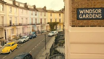 Paddington 2, 2017 Camden FIlmfixer location Chalcot crescent